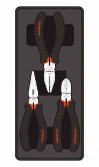 Fogó készlet, 3 részes, 395x175x50mm (FIXMAN FX-F1.BT07)