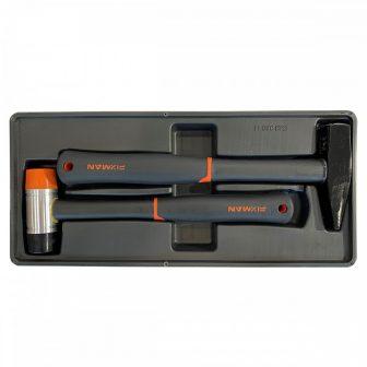 Kalapács készlet, 500g+40mm, 390x175x50mm (FIXMAN FX-F1.BT13)