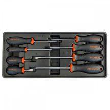 Csavarhúzó készlet, 8 részes, Lapos és Philips, 390x175x50mm (FIXMAN FX-F1.BT24)