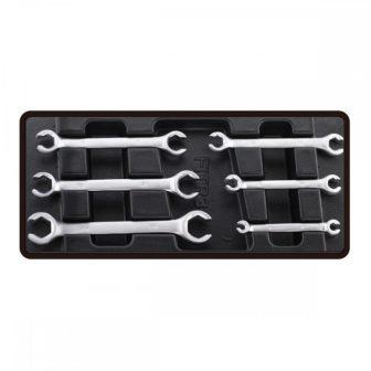 Villáskulcs (fékcső) készlet, 6 részes, 6-24mm, 390x175x50mm (FIXMAN FX-F1.BT30)