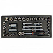 """Fiókbetét, szerszámkészlet, 31 részes, 3/8"""", 395x175x50mm (FIXMAN FX-F1.BT48)"""