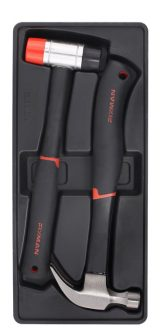 Kalapács készlet, 2 részes, 340g+40mm, 390x175x45mm (FIXMAN FX-F1.BT52)