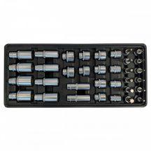 """Fiókbetét, Dugókulcs-bit készlet, 34 részes 3/8"""", 395x175x50mm (FIXMAN FX-F1.BT79)"""
