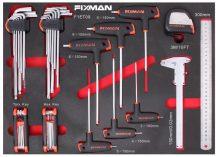 Fiókbetét, Szerszám készlet, 13 részes, 525x390x35mm (FIXMAN FX-F1.ET09)