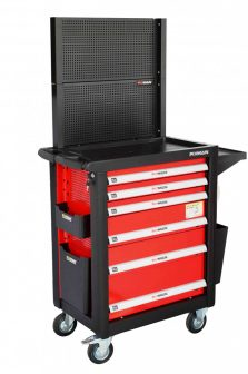 Műhelykocsi, 6 fiókos+kiegszítők, 1568×1036×465mm, 300kg (FIXMAN FX-F1RP6.C5)