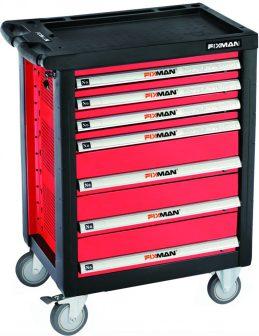 Műhelykocsi, 7 fiókos, 958×766×465mm, 260kg (FIXMAN FX-F1RP7)
