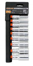 """Dugókulcs készlet 9 részes, 3/8"""", 8-19mm (FIXMAN FX-P3009M)"""