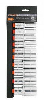 """Dugókulcs készlet 10 részes, 1/2"""", 10-24mm (FIXMAN FX-P4010M)"""