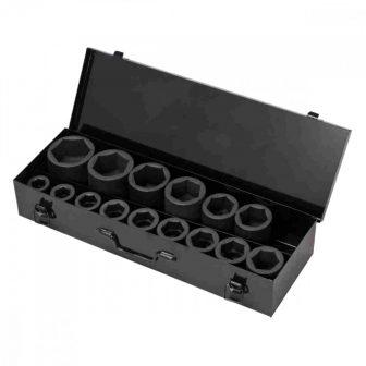 """1"""" Gépi Dugókulcs készlet 22mm-60mm, L:110mm 14db-os (JQ-1-14set)"""