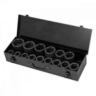"""15db-os Gépi Dugókulcs készlet 1"""" (22-60mm) (JQ-1-15set)"""