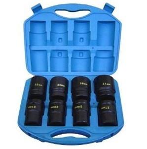 "8db-os Gépi Dugókulcs 1"" (80mm hosszú) (7/8-15/16-1"" -1.1/16- 1.1/8-1.3/16-1.1/4-1.1/2) (JQ-80-1-8set-SAE)"