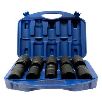 """10db Gépi Dugókulcs készlet 3/4"""" 80mm hosszú (17-19-21-22-24-27-32-33-38-41mm) (JQ-80-34-10set)"""
