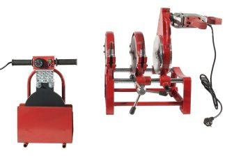HD-PE (KPE) csőhegesztő gép, Dn63-200; 1.71kW/220V (LHA200-2M)
