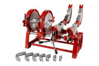 HD-PE (KPE) csőhegesztő gép 1.71KW / 220V (LHA200-4M)