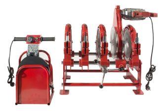 HD-PE (KPE) csőhegesztő gép, Dn90-250, 2.83kW/220V (LHA250-4M)