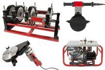 HD-PE (KPE) csőhegesztő gép, Dn63-200, 3.25kW/220V (LHC200)