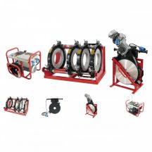 HD-PE (KPE) (Ø280-450mm)csőhegesztő gép 8.2kWKW/380V (LHC450)