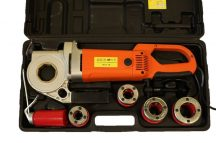"""Elektromos kézi csőmenetmetsző (BSPT 1/2"""", 3/4"""", 1"""", 1.1/4"""") (P30A)"""