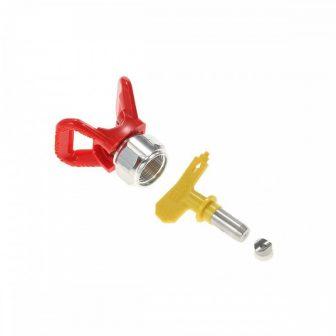 Festékpisztoly szórófej fúvóka szett 517 (ø0,43 mm-es) (PF01-PF07)