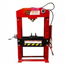 Hidraulikus műhelyprés, pneumatikus tápegységgel, nyomásmérő órával 100Tonna (SP100A)