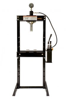 Hidraulikus műhelyprés beépített tápegységgel, nyomásmérő órával 20 Tonna (SP20-2)