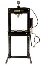 Hidraulikus műhelyprés, levegőhajtású tápegységgel, nyomásmérő órával 30Tonna (SP30A)