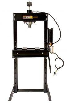 Hidraulikus műhelyprés, külső levegőhajtású tápegységgel, nyomásmérő órával 30Tonna (SP30A)