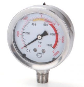 Hidraulikus nyomásmérő (1000Bar, 63mm) (SPG60)