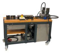 Multifunkciós hidraulikus hajlító és csőívelő (Vario III.) - GELBER-BIEGER