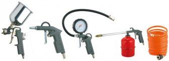 Pneumatikus pisztoly készlet, 5 részes (W-2000A5-GA)