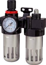 """Levegőszűrő - vízleválasztó előkészítő, G1/4"""" (WMF-3)"""