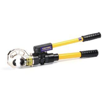 Hidraulikus kábelsaru prés automatikus nyomásszabályozó szeleppel, 11T, (50-400mm2) (Y-35)