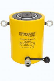 Egyszeres működésű általános hidraulikus munkahenger (100T, 100mm) (YG-100100)