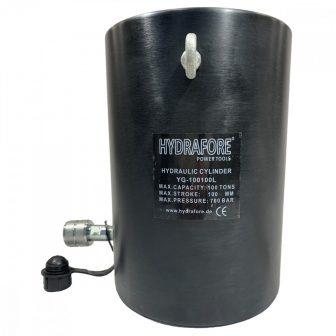 Alumínium hidraulikus munkahenger (100T, 100mm) (YG-100100L)