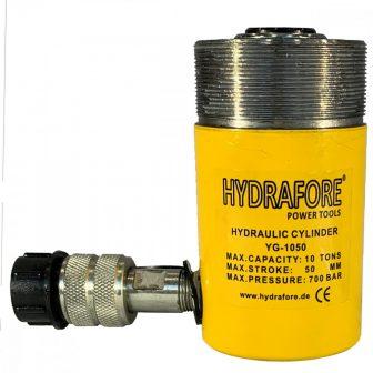 Egyszeres működésű, gallérmenetes általános hidraulikus munkahenger (10T, 50mm) (YG-1050CT)