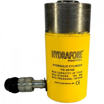 Egyszeres működésű gallérmenetes, általános hidraulikus munkahenger (20T, 100mm) (YG-20100CT)
