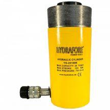 Egyszeres működésű üreges, gallérmenetes hidraulikus munkahenger (20T, 100mm) (YG-20100KCT)