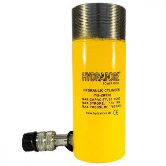 Egyszeres működésű általános gallérmenetes hidraulikus munkahenger (20T, 150mm) (YG-20150CT)