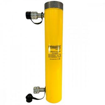 Kettős működésű, gallérmenetes hidraulikus munkahenger (20T, 300 mm) (YG-20300SCT)