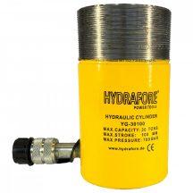 Egyszeres működésű általános gallérmenetes hidraulikus munkahenger (30T, 100mm) (YG-30100CT)