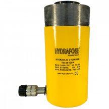 Egyszeres működésű üreges, gallérmenetes hidraulikus munkahenger (30T, 100mm) (YG-30100KCT)