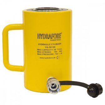 Egyszeres működésű általános hidraulikus munkahenger (50T, 100mm) (YG-50100)