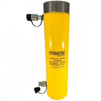 Kettős működésű, gallérmenetes hidraulikus munkahenger (50T, 300 mm) (YG-50300SCT)
