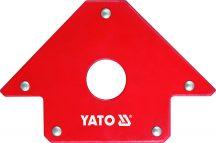 Hegesztési munkadarabtartó mágneses, 22.5kg, 102x155x17mm (YT-0864)