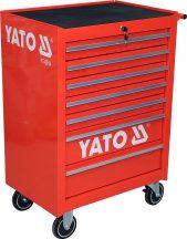 Szerszámkocsi 7 fiókos, üres (YATO YT-0914)