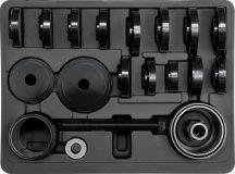 Csapágylehúzó és adapter készlet első futóműhöz, 23 részes (YT-2541)