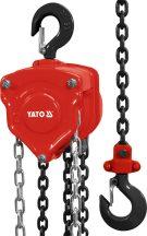 Láncos emelő 3000 kg 3m (YATO YT-58954)