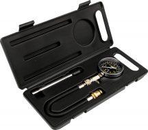 Kompressziómérő készlet, 21bar (YT-7302)