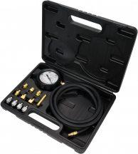 Olajnyomásmérő készlet - 12 részes, 35bar (YT-73030)