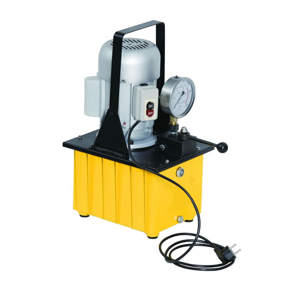 Egyszeres működésű elektromos hajtású tápegység (kéziszelepes, 700 Bar) (B-630C)